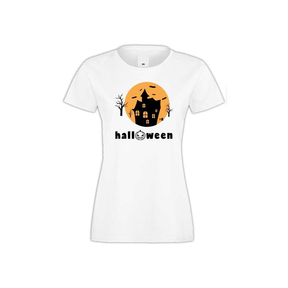 Damské tričko Halloween  S-W-161