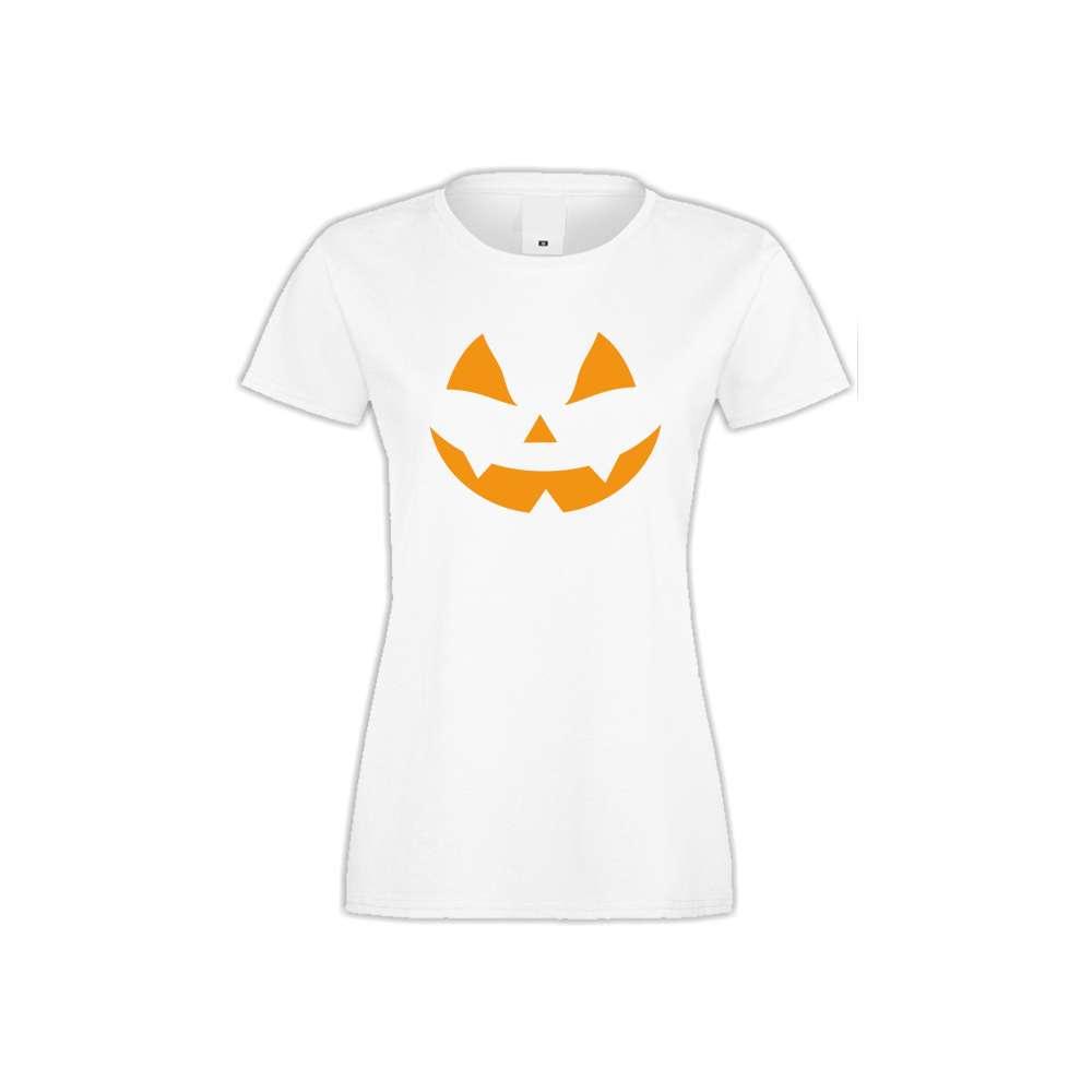 Damské tričko Halloween face  S-W-167