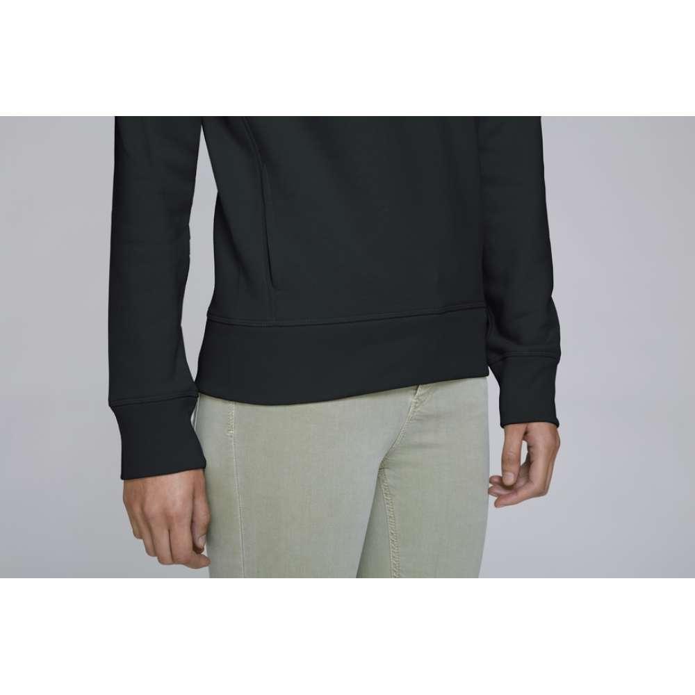 Dámská mikina z organické bavlny v černé barvě