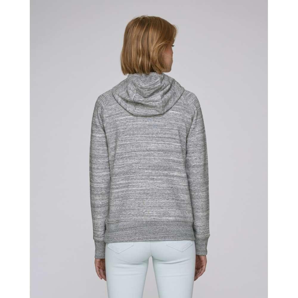 Dámská mikina z organické bavlny v šedé barvě