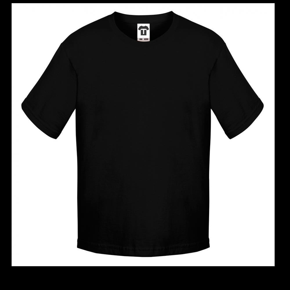 Černé dětské tričko 12B