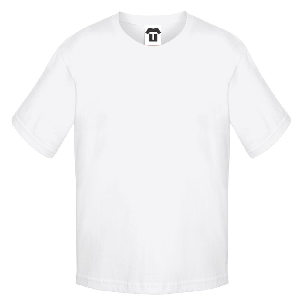 Bílé dětské tričko 12W