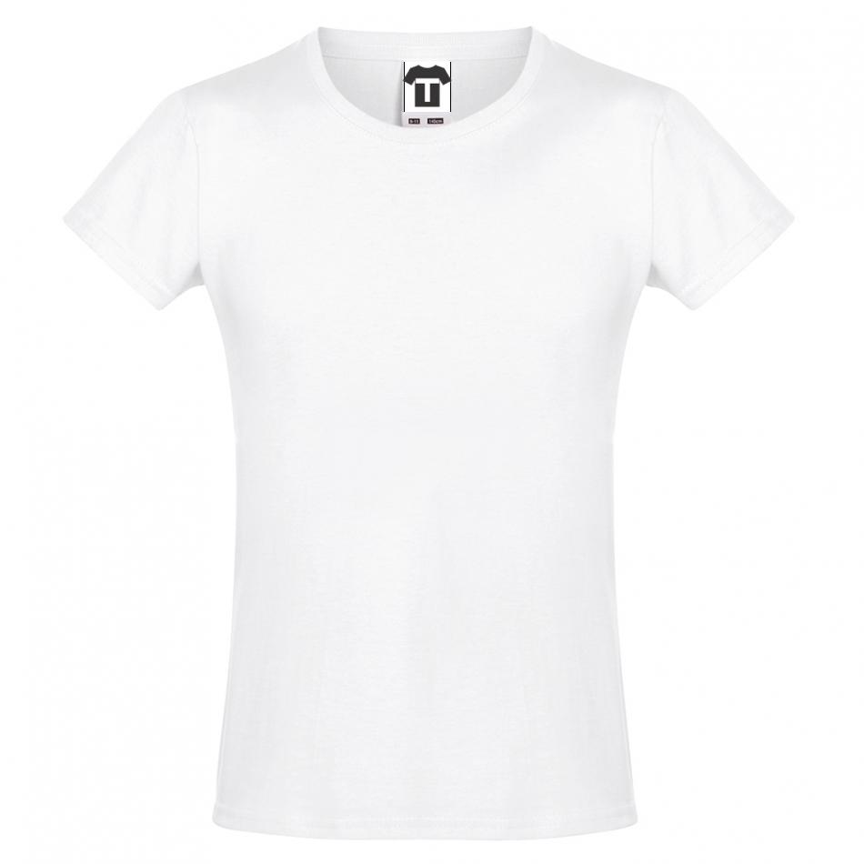Bílé dětské tričko 13W