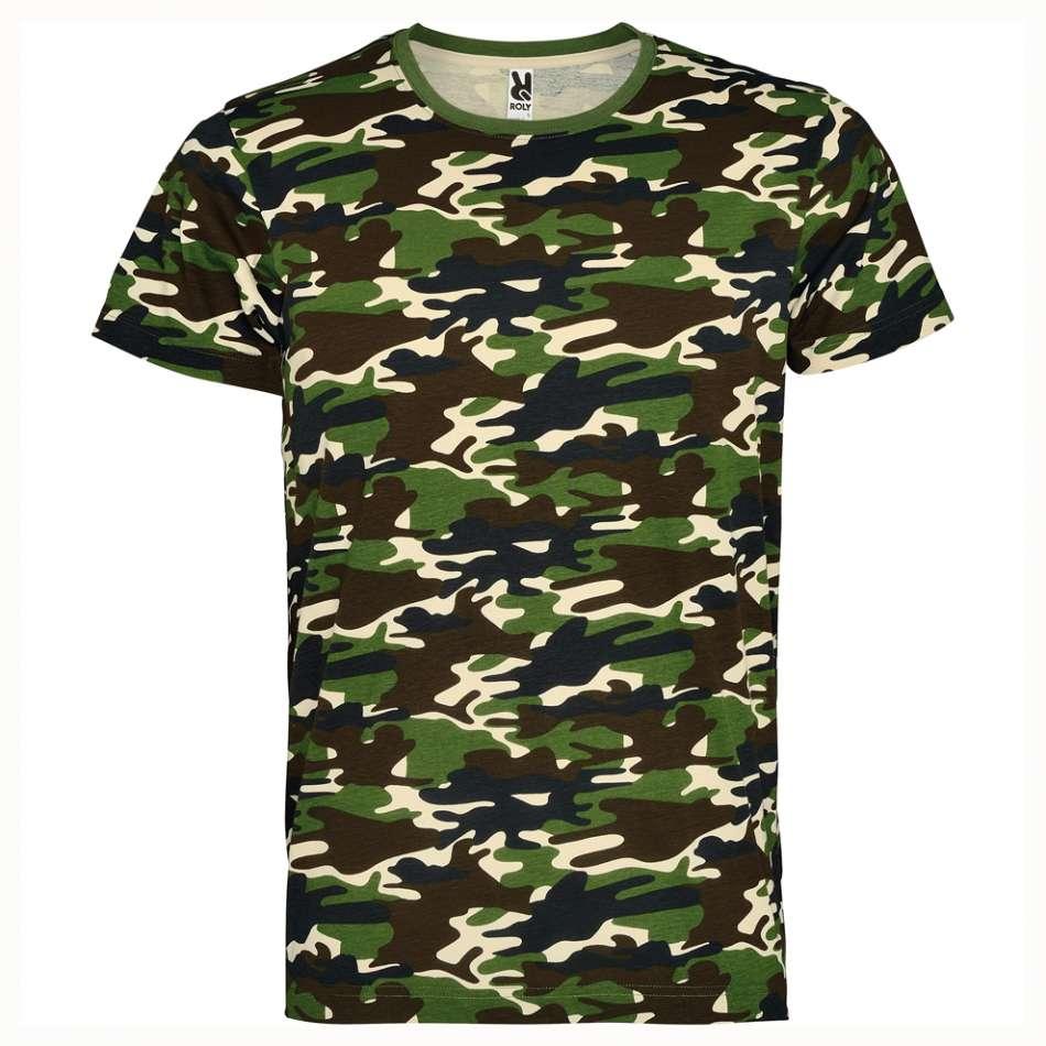 Kamuflážové dámské tričko 18K