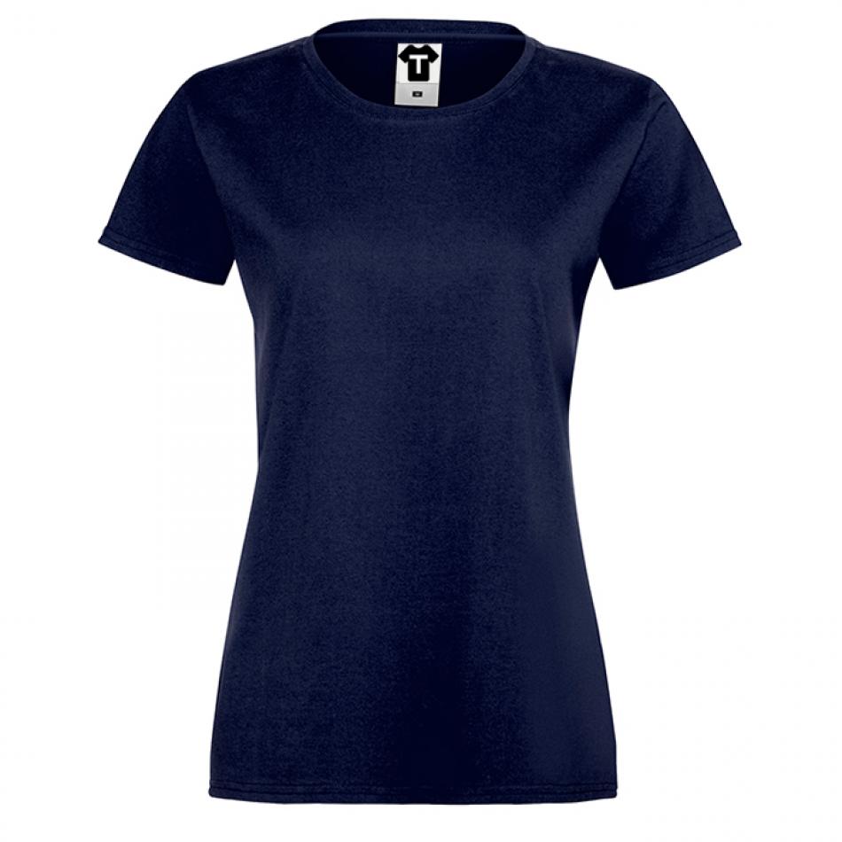 Tmavě modré dámské tričko 1N