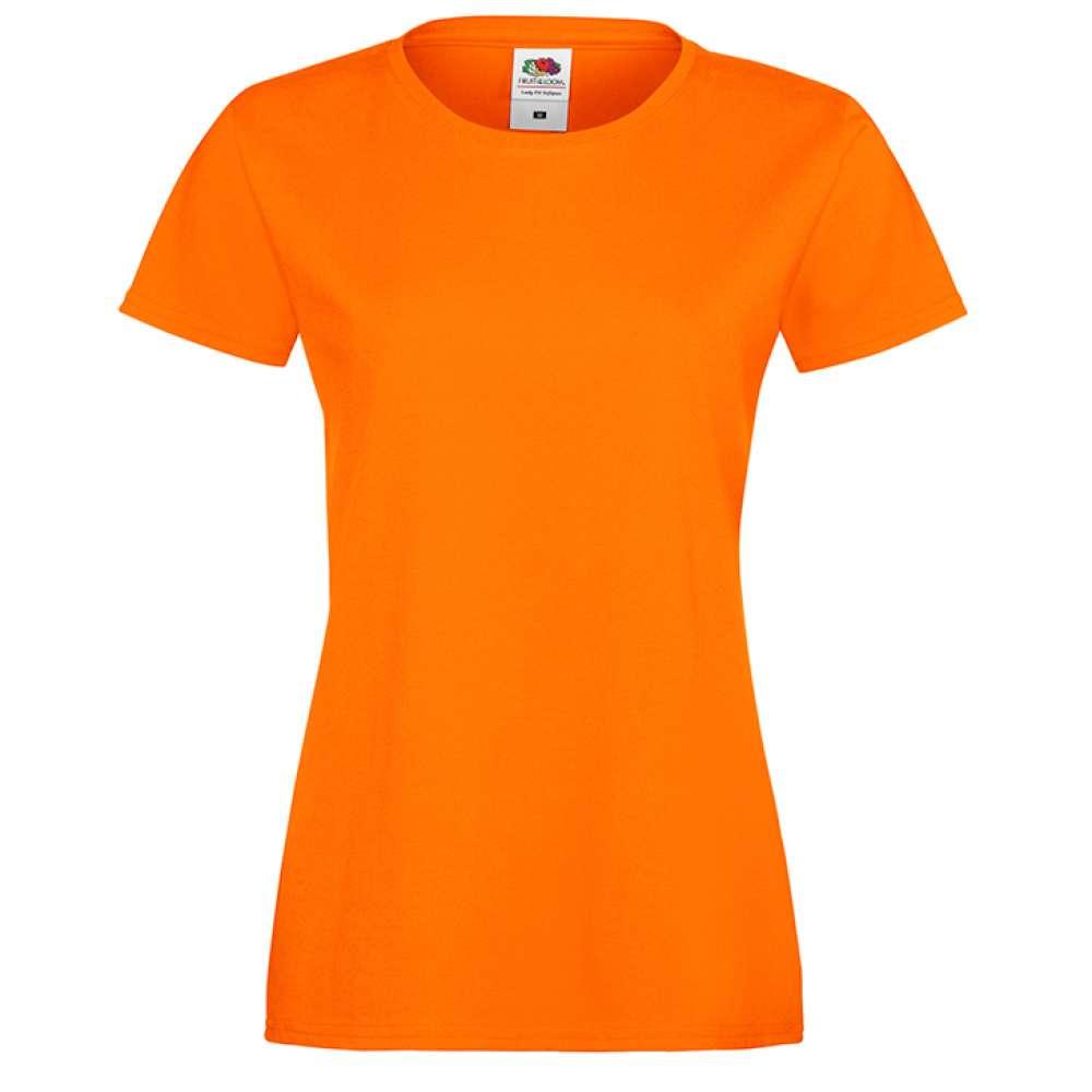 Oranžové dámské triko 1O