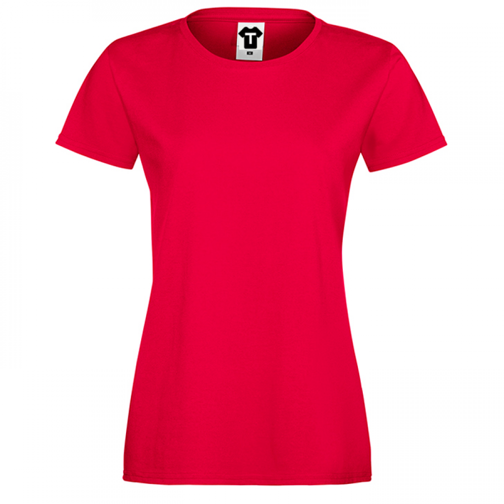 Červené dámské triko 1R