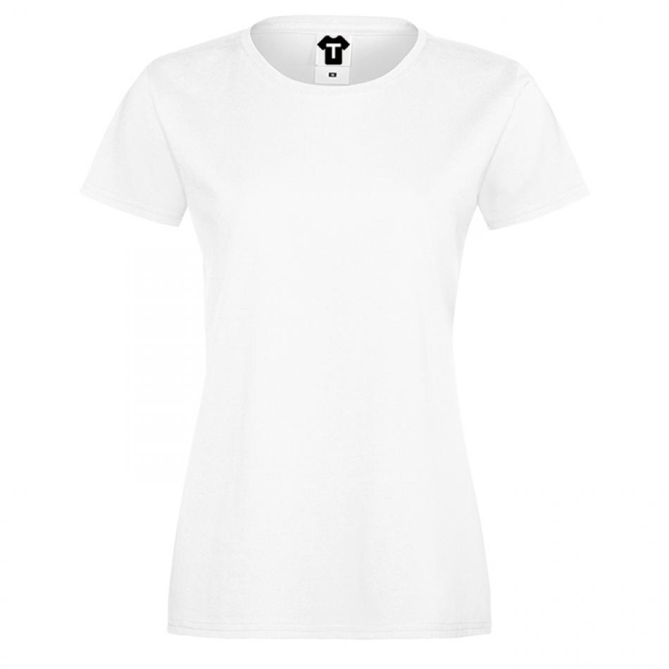 Bílé dámské triko 1W