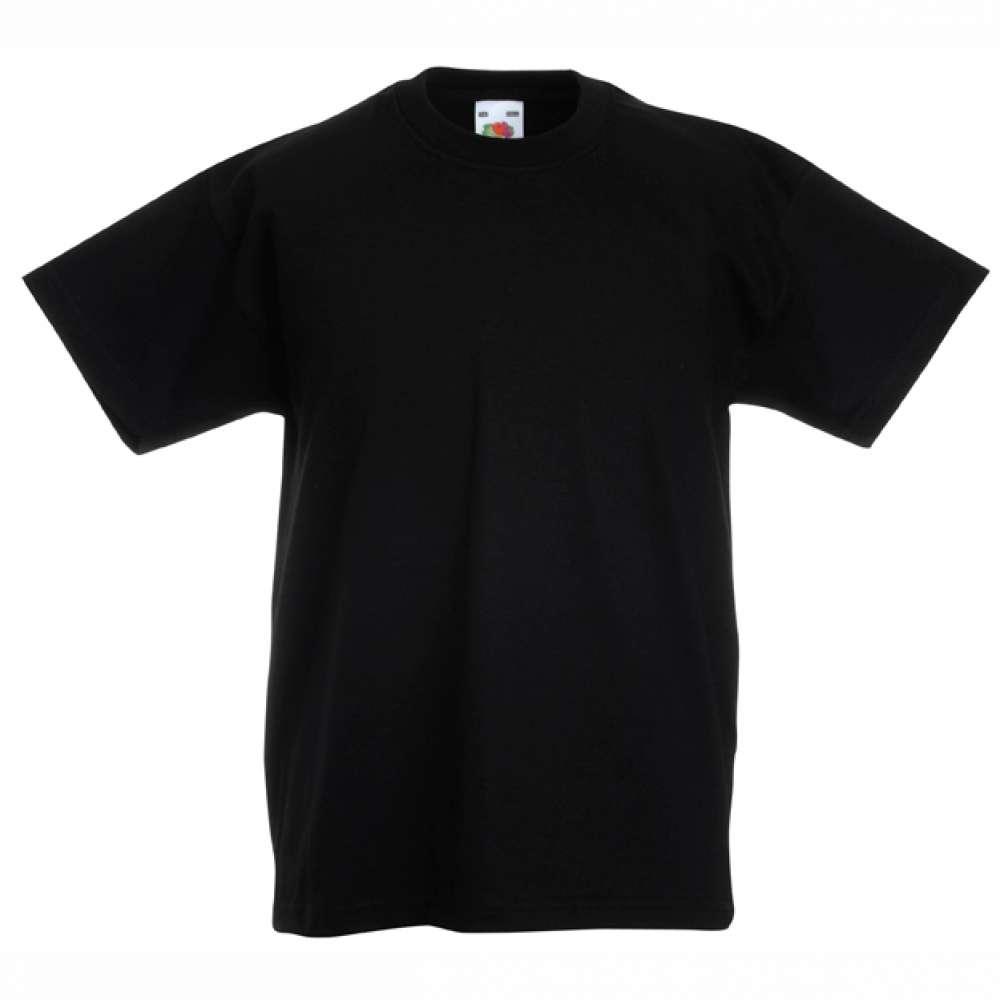 Černé dětské tričko 14B