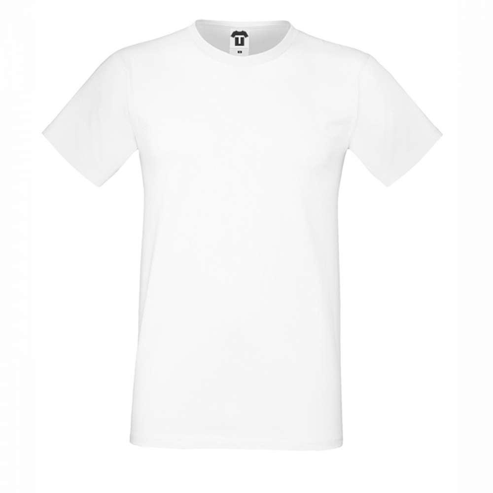 Bílé pánské triko 2W