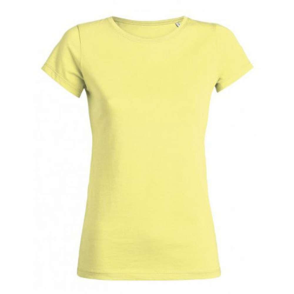Žluté dámské triko 100% Bio bavlna 3Y
