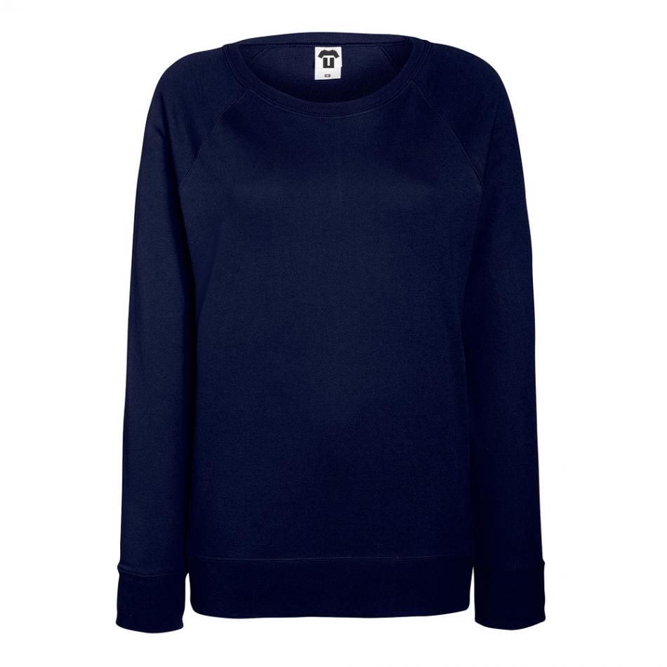 Tmavě modré dámské tričko s dlouhým rukávem 7N