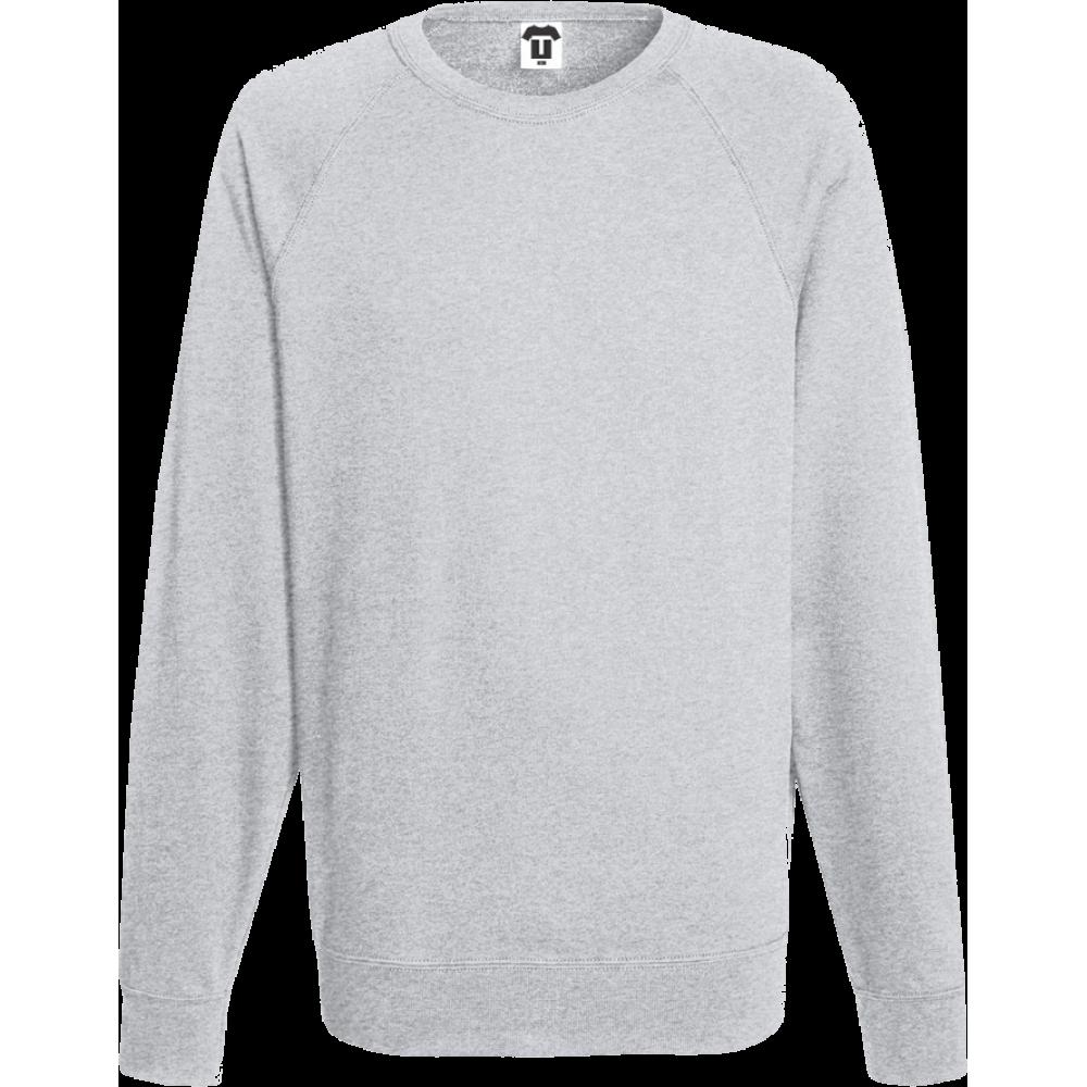 Šedé pánské triko s dlouhým rukávem 8G