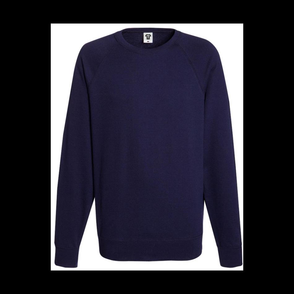 Tmavě modré pánské triko s dlouhým rukávem 8N