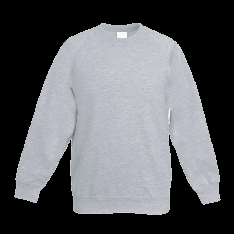 Šedé dětské tričko s dlouhým rukávem 9G