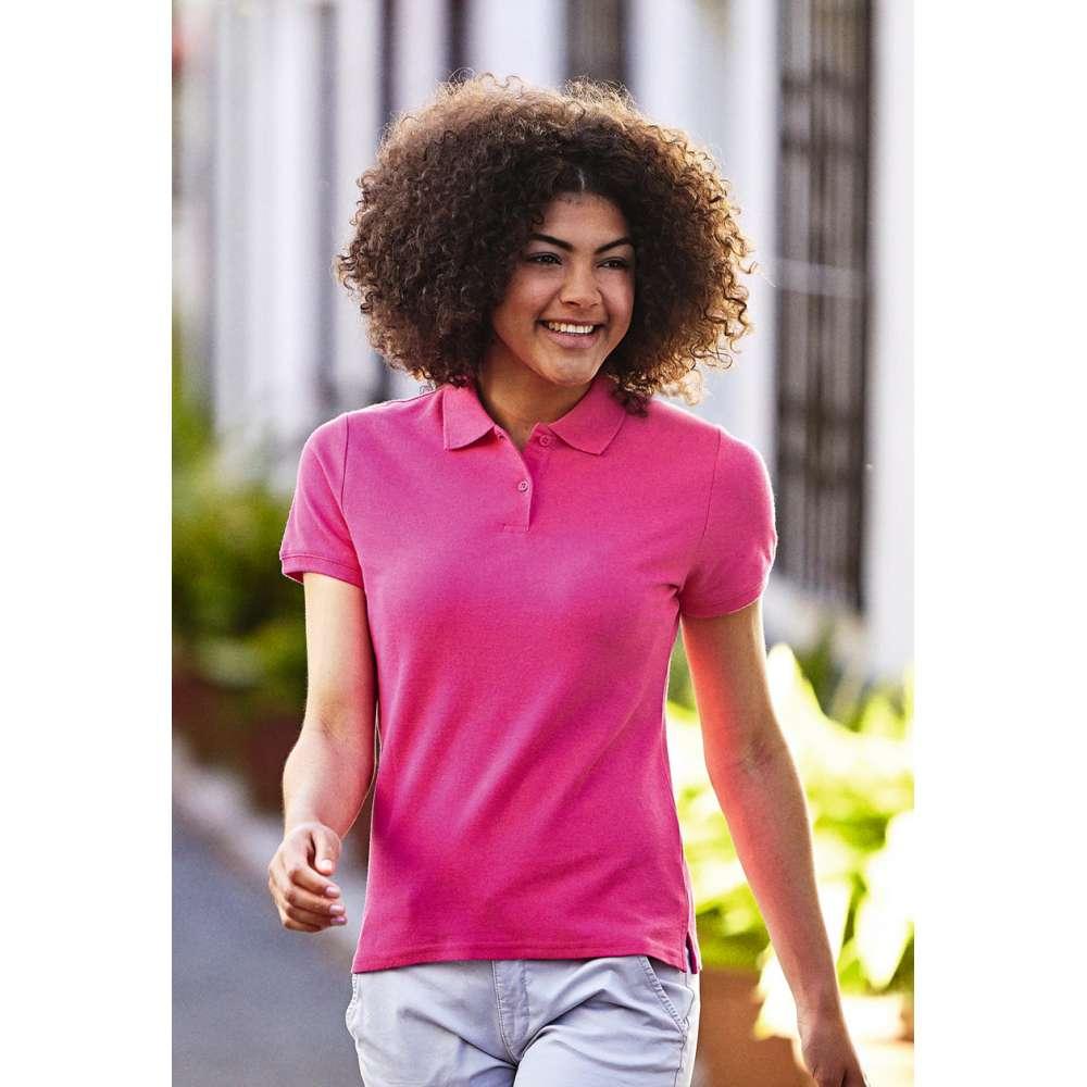 Dámske 100% bavlnené polokošeľa v ružovej farbe