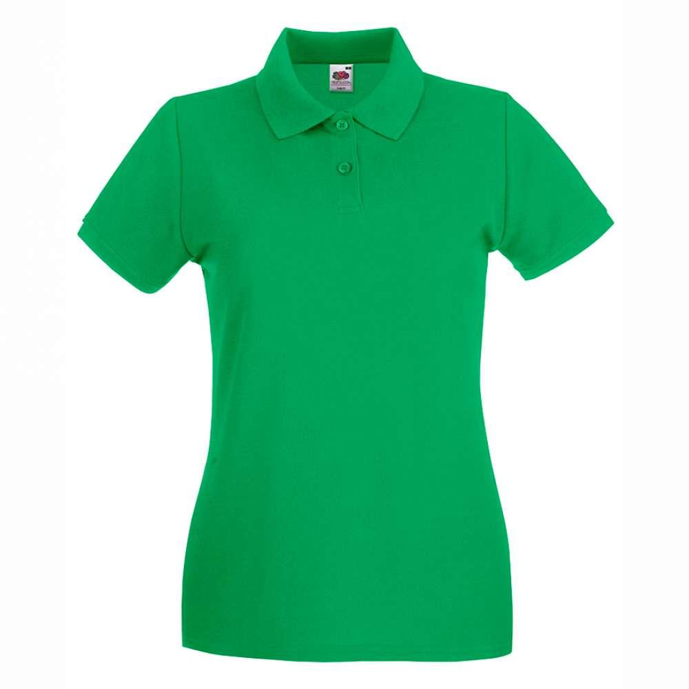 Dámske 100% bavlnené polokošeľa v zelenom