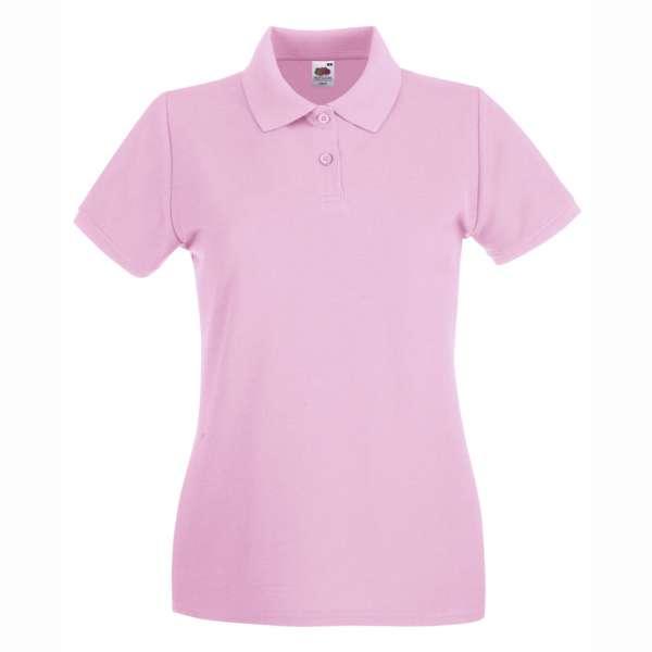 Dámske 100% bavlnené polokošeľa v svetlo-ružovej farbe