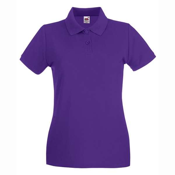 Dámske 100% bavlnené polokošeľa vo fialovej farbe