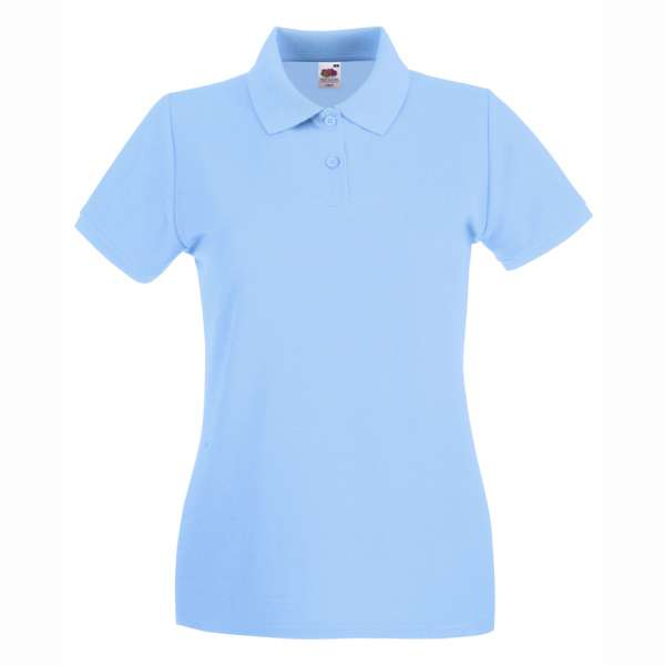 Dámske 100% bavlnené polokošeľa v modrej farbe