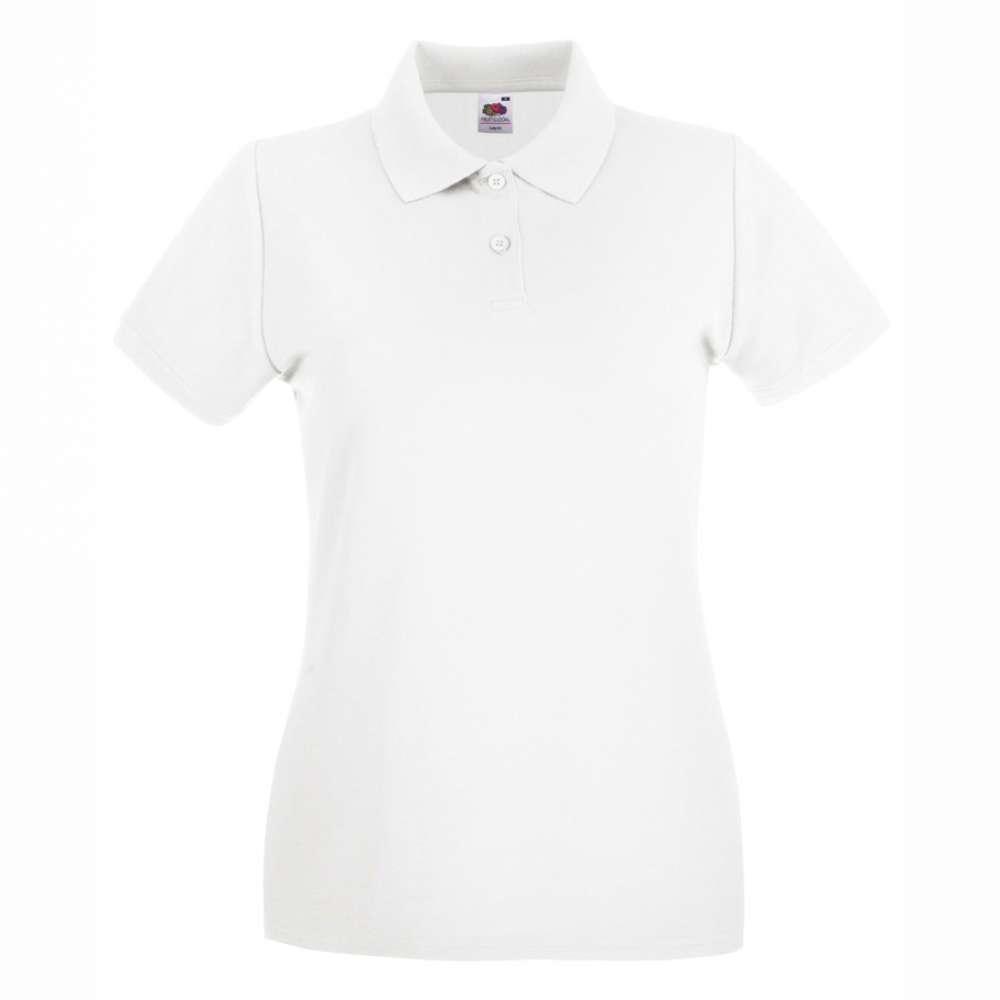 Dámske 100% bavlnené polokošeľa v bielom