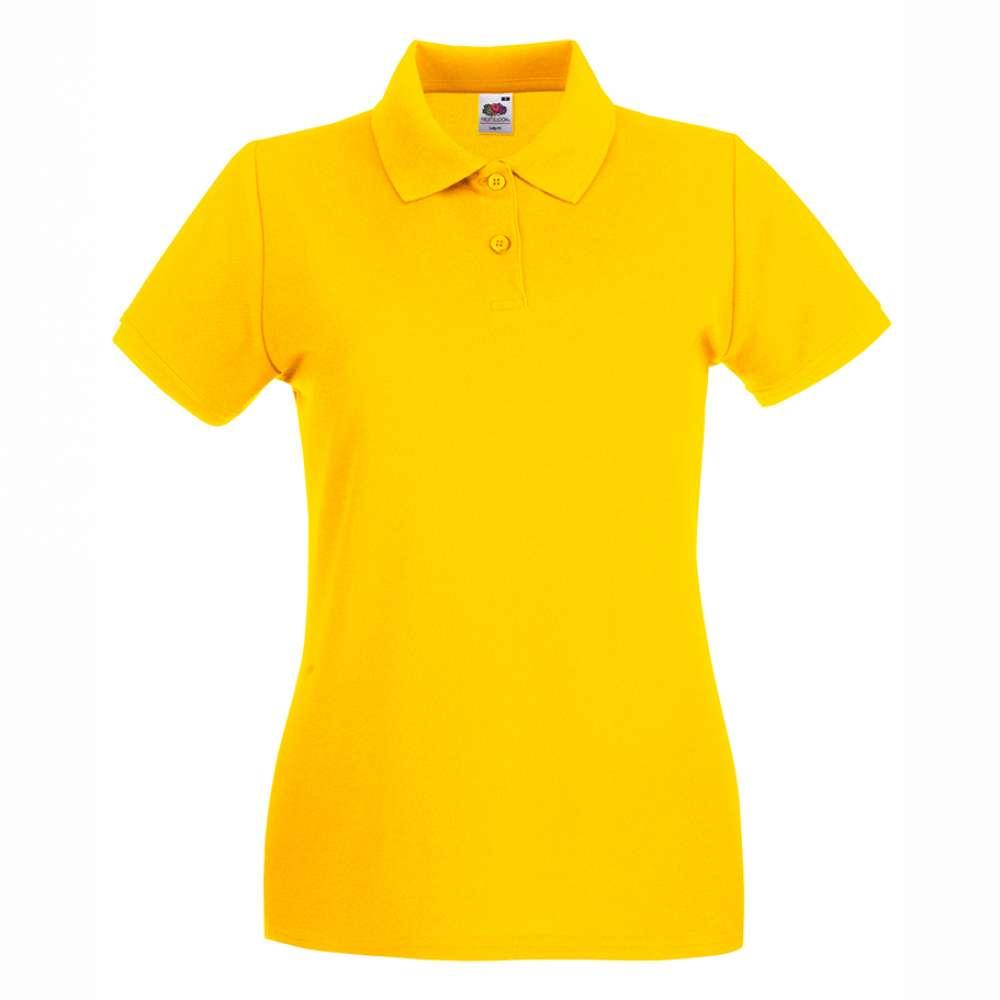 Dámske 100% bavlnené polokošeľa v žltej farbe