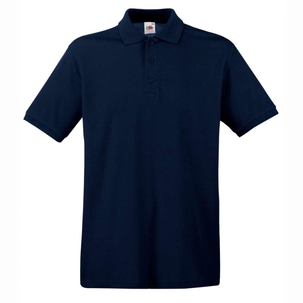 Tričko pánske Polo z 100% bavlny v tmavo modrej farbe