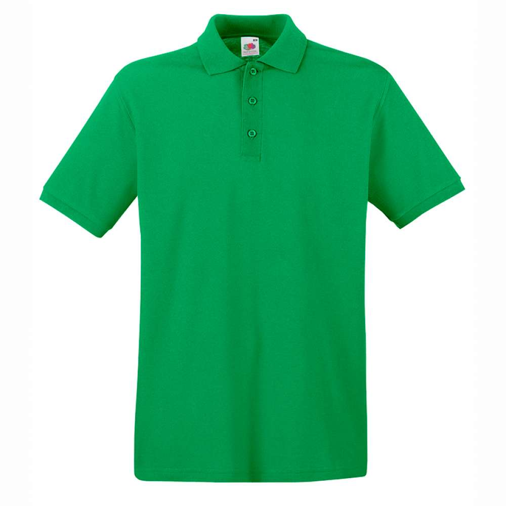 Tričko pánske Polo z 100% bavlny v zelenom