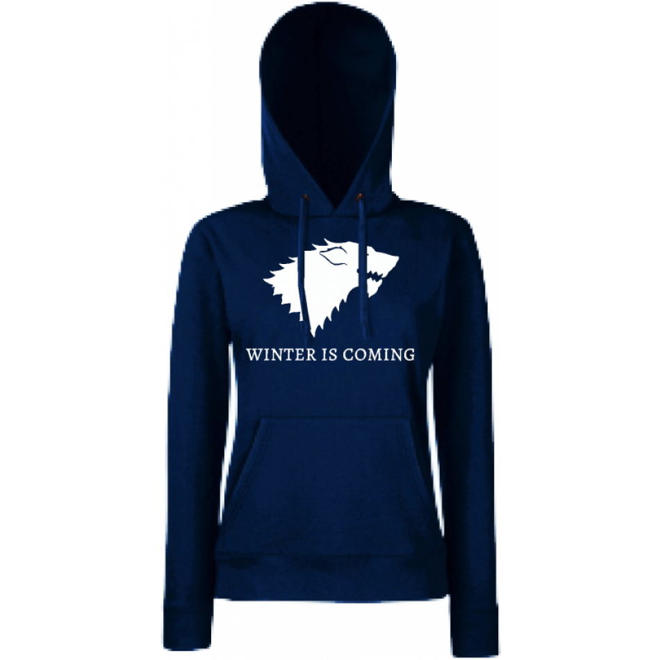Dámská mikina Winter is Coming House Stark HD-W-217N