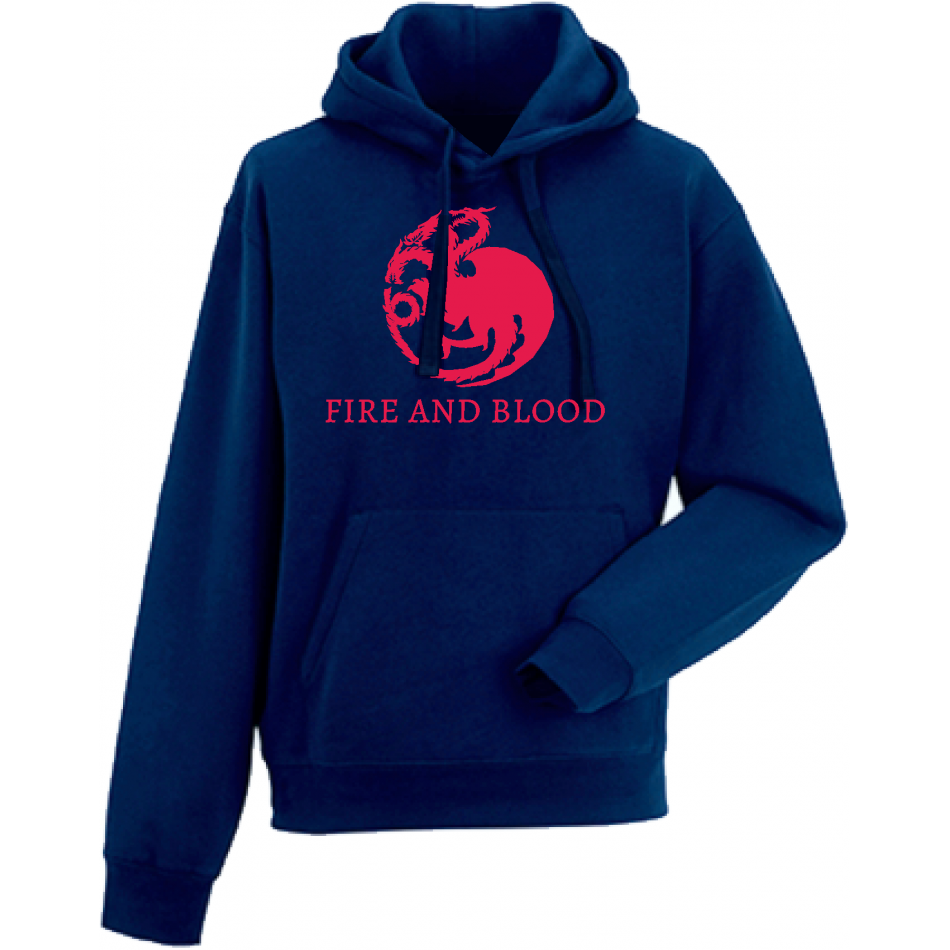 Panska mikina House Targaryen Fire and Blood HD-M-218N