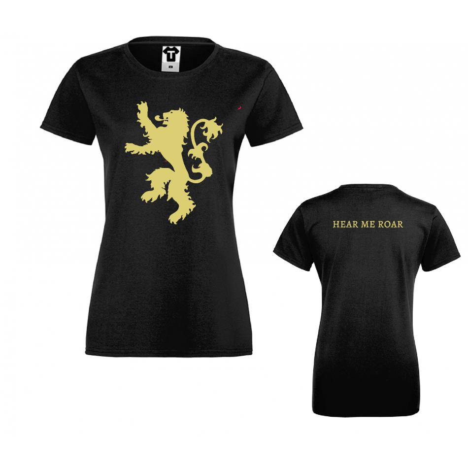 Damské tričko House Lannister Hear me Roar D-W-219