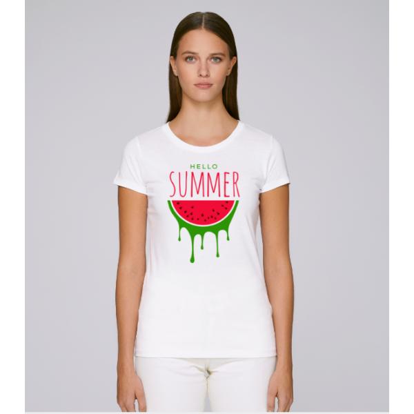 Dámské tričko Bílé Summer Time