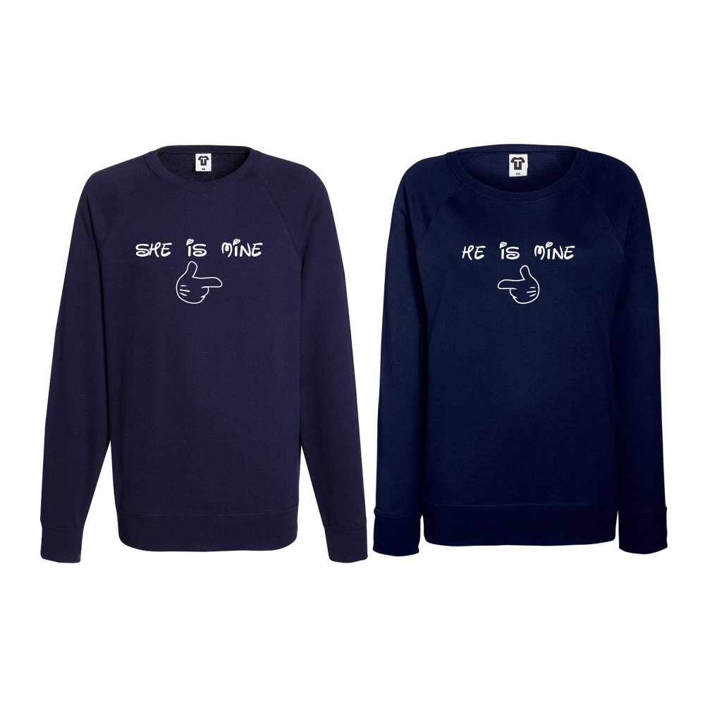Set triko s dlouhým rukávem She is Mine Tmavě modré BD-CP-162N
