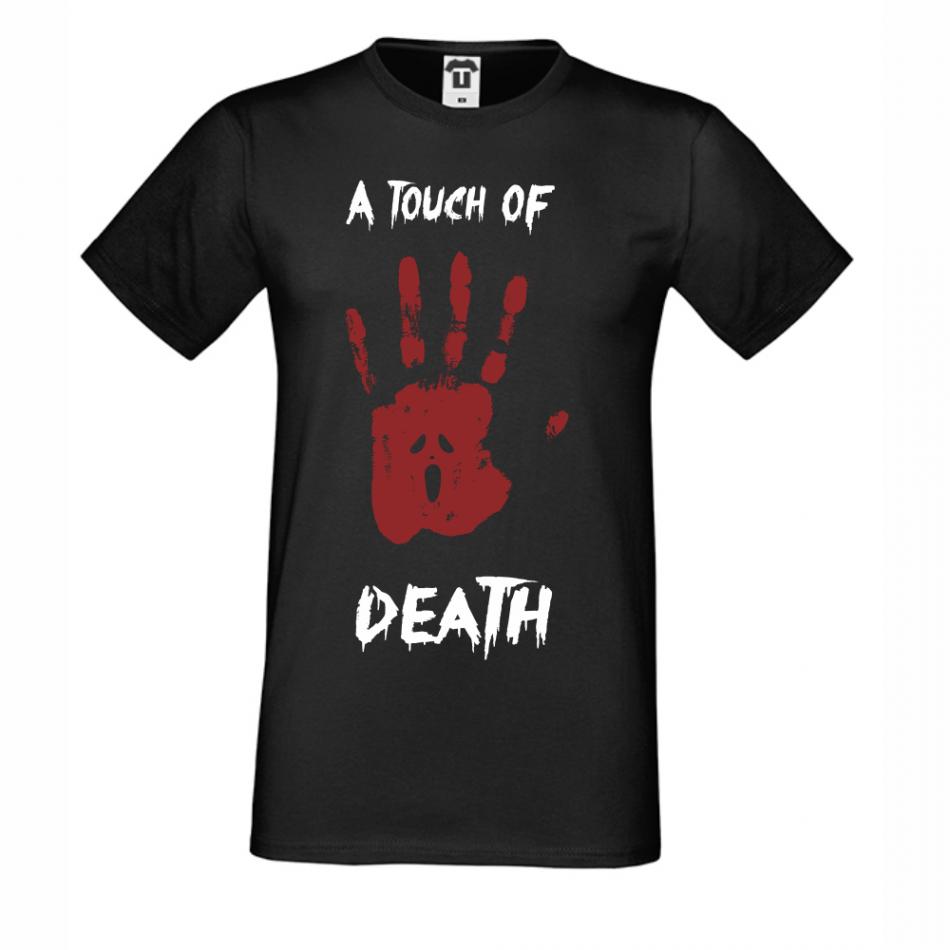 Pánská trička A Touch of Death D-M-214B