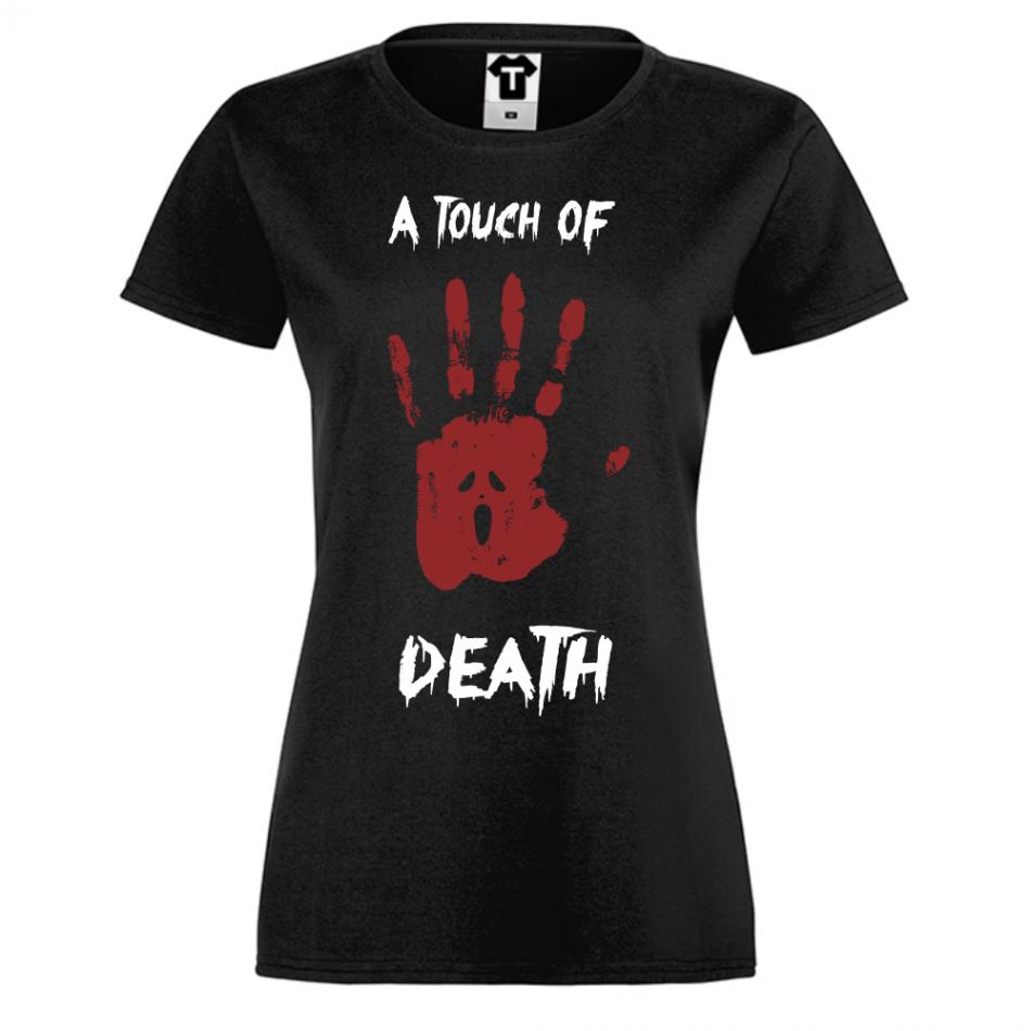 Dámské tričko A Touch of Death D-W-214B