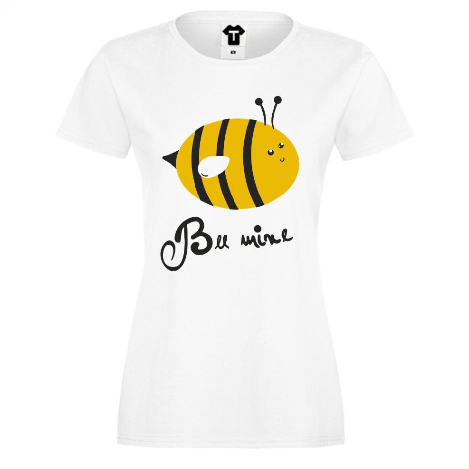 Dámské tričko Bílá Bee Mine D-W-215