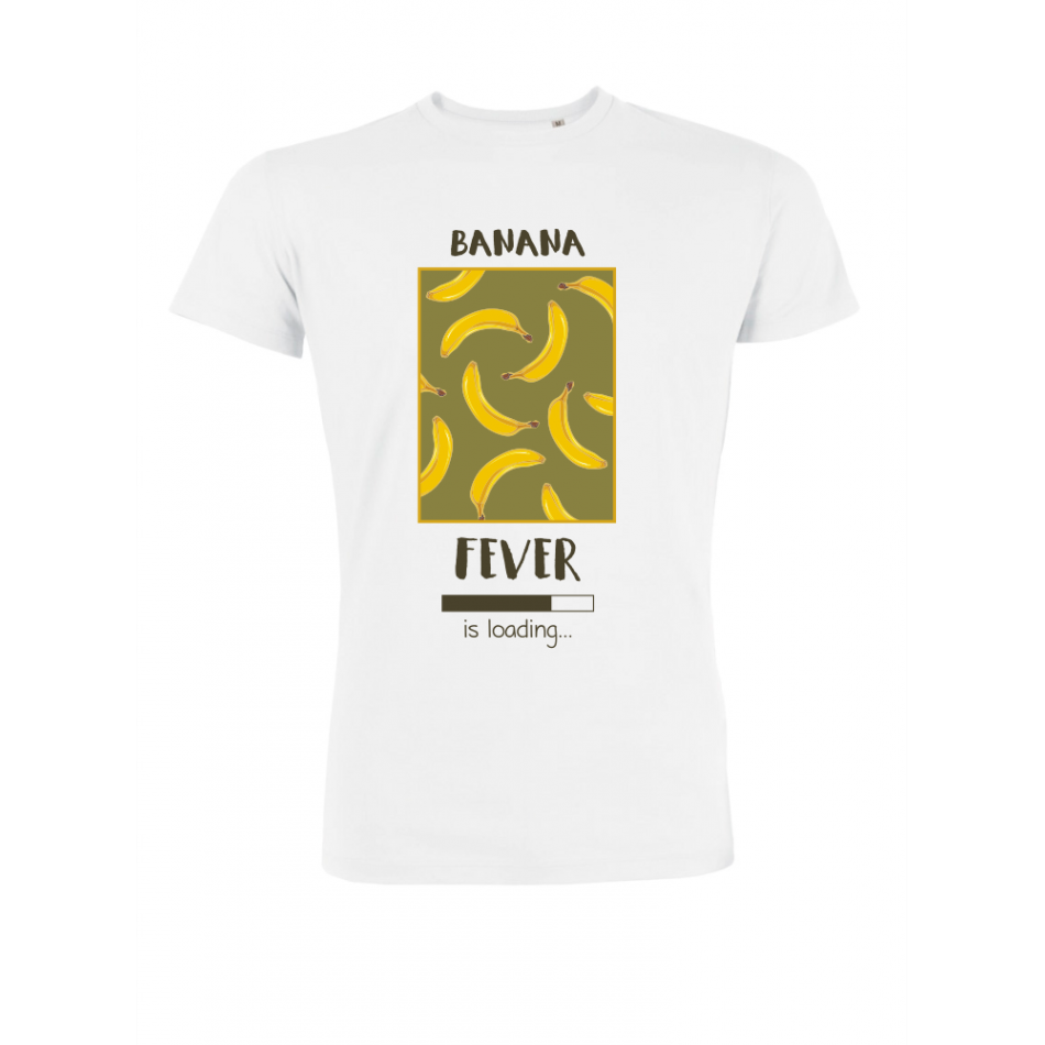 Pánské tričko Bílé Banana Fever P-M-209