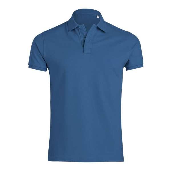 Modré pánské tričko 100% organická bavlna SSB-300S