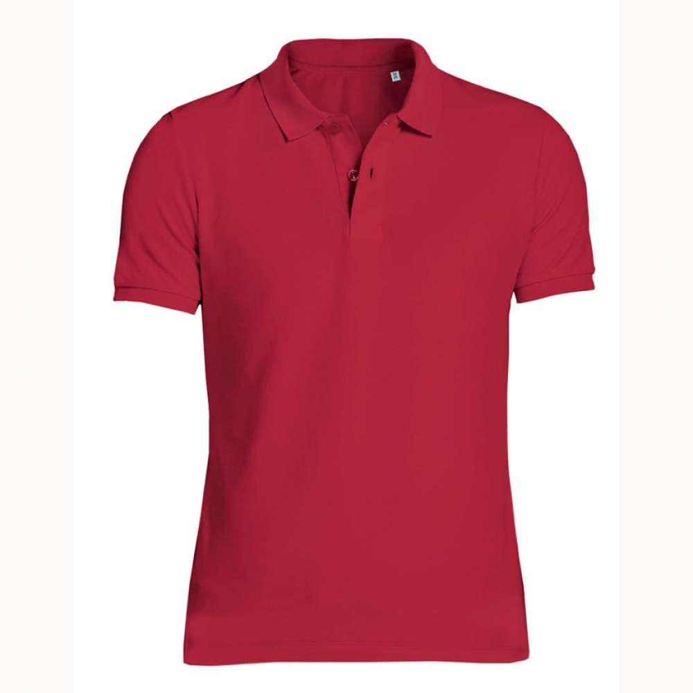 Červené pánské tričko 100% organická bavlna SSB-771R